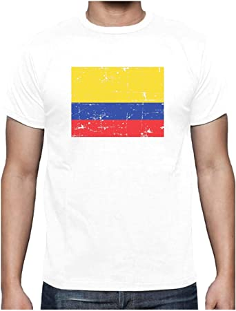 Green Turtle Camiseta para Hombre - Bandera de Colombia en ...