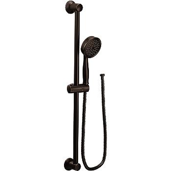 Moen 3669EPBL 1.75 GPM Four-Function Handheld Shower Matte Black ...