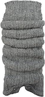 ch-home-design 1 Paar Grobstrick-Stulpe mit Alpakawolle Legwarmers für Teenager und DamenCH-354