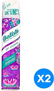 Batiste Dry Hair Shampoo - Orient, 200 ml - Pack of 2
