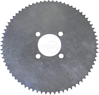 These sprockets are made of heavy gauge steel for long lasting life. To be used on 35 chain with 5.1cm centre hole and has...