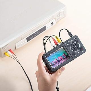 イーサプライ ビデオキャプチャー ビデオデジタル機 デジタル保存 ビデオテープ テープダビング モニター確認 USB/SD保存 HDMI出力 パソコン不要 EZ4-MEDI029