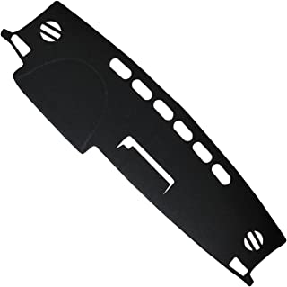 Naviurway 2nd Generation Anti-Slip Backing Custom Fit Dashboard Cover Dash Mat Carpet for Toyota RAV4 2013-2018 (Black)