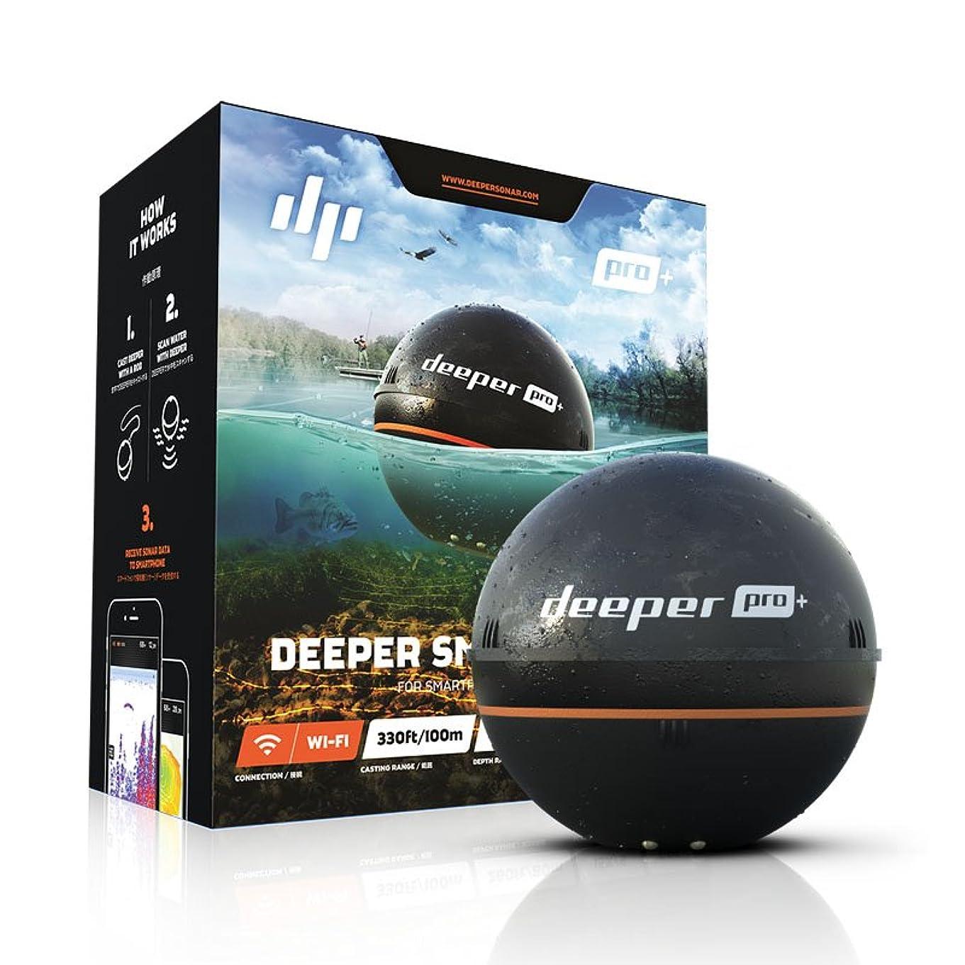 高尚な高いする必要があるディーパー プロプラス スマートソナー GPS内臓 deeper Smart Sonar