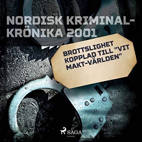 """Brottslighet kopplad till """"vit makt-världen"""" audiobook cover art"""