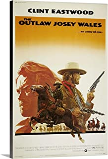 The Outlaw Josey Wales Canvas Wall Art Print, 24