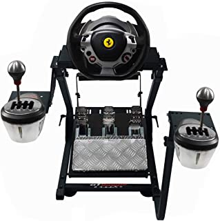 GT Omega Steering Wheel Stand PRO for Thrustmaster T150 Force Feedback Racing Wheel PS4 & Pedals, Supporting TX, Xbox, Fan...