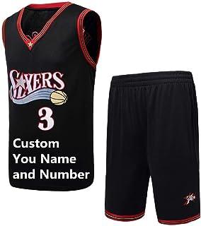 Customized Basketball Uniform Suit Retro Classic City Jersey Training Vest Sleeveless Jersey