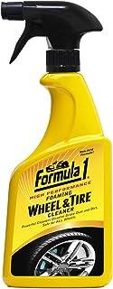 Formula 1 Foaming Wheel Cleaner, 23Oz, 615254, Multi-Colour