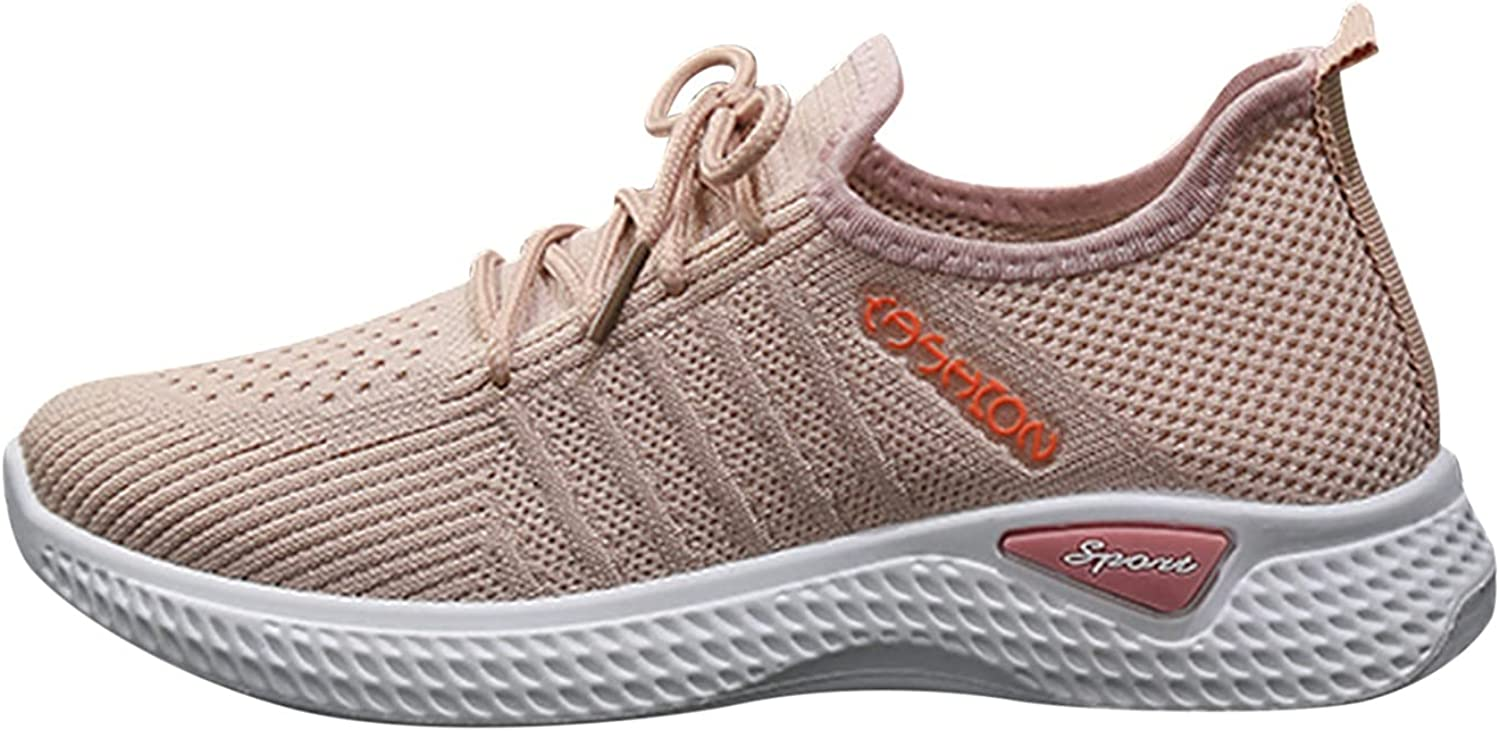 Johtae Be super welcome Slip on Breathe Mesh Walking Shoes Women Tennis Workout W Max 77% OFF