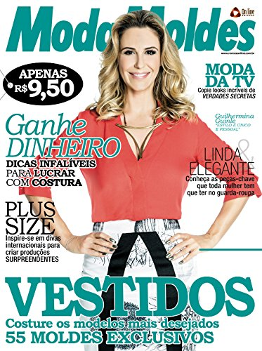 Moda Moldes 77 (Portuguese Edition)