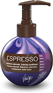 Vitality's Espresso Hair Coloring Conditioner and Glaze | with Keravit vegetable-based Keratin complex | restructures and ...
