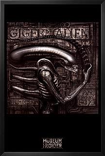 Giger's Alien Framed Poster by H. R. Giger 26 x 38in