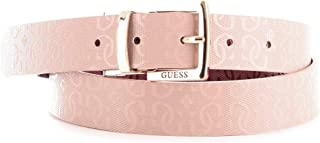 Luxury Fashion | Guess Womens BW7252VIN30PINK Pink Belt | Fall Winter 19