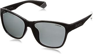 Polaroid Unisex 201898 Sunglasses, Color: Black, Size: 59