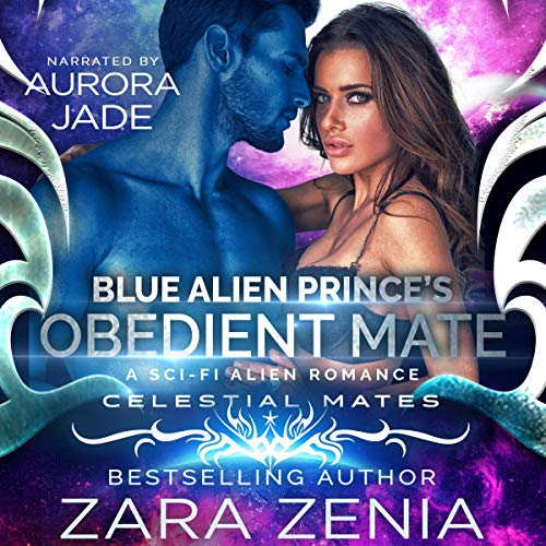 Couverture de Blue Alien Prince's Obedient Mate