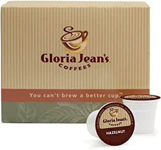 Gloria Jean's Coffees Hazelnut Coffee 48 K-Cups for Keurig Brewers