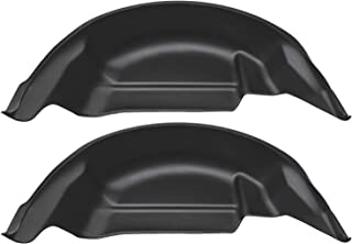 Husky Liners 79121 Black Wheel Well Guards Rear Wheel Well Guards Fits 2015-2019 Ford F-150 (will not fit Raptor)