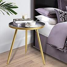 تيتا طاولة جانبية عقلي طاولة جانبية مستديرة / طاولات معدنية صغيرة لهجة طاولة القهوة لغرفة المعيشة غرفة النوم المكتب مساحة ...