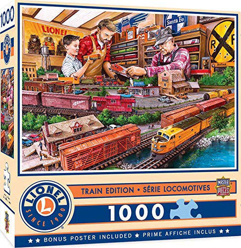 MasterPieces Lionel - Shopping Spree 1000-Piece Jigsaw Puzzle