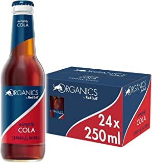 Organics by Red Bull, Simply Cola, Biologisch, 250ml (24-pack) 10,1 kg
