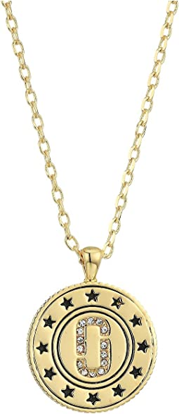 Medallion Double Sided Pendant Necklace