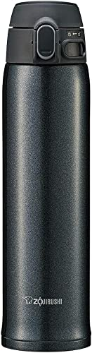 Zojirushi Stainless Steel Vacuum Insulated with Non-Stick Interior and Rounded Finish Mug, 600 ml Black