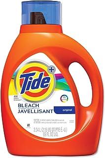 Tide 87545 Liquid Laundry Detergent Plus Bleach Alternative, Original Scent, 69 oz Bottle