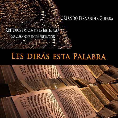 Les Dirás Esta Palabra [They Say This Word] audiobook cover art