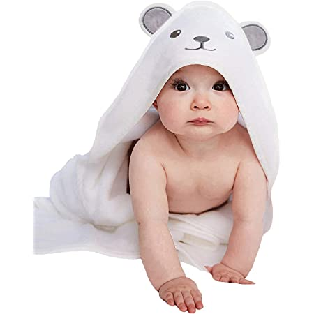 Optional freckles /& to add name Classic Little Girl Lucy Hooded Bath Towel is handmade and embroidered with full size bath towel plus hood