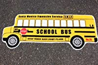 アメリカのスクールバス型★フロアマット★ロングサイズの約120センチ