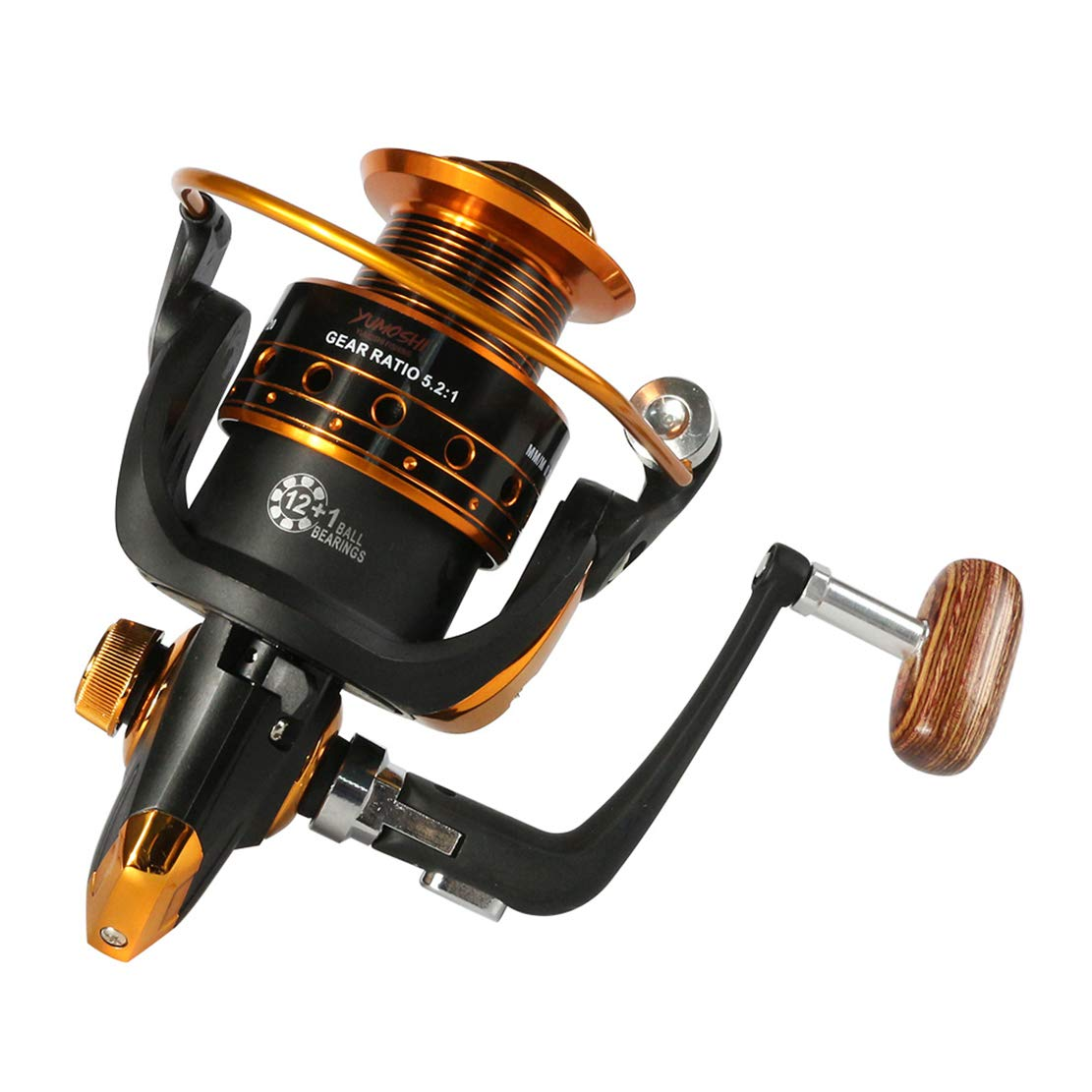 Mele & Co Spinning Pesca Carrete 12BB + 1 AX Bx 500-9000 Serie ...