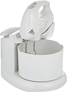 Kenwood Hand Mixer with Bowl, White, HM430