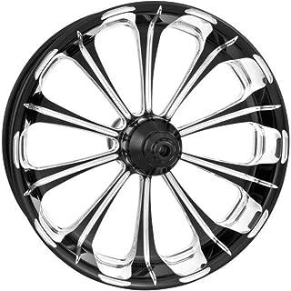 Performance Machine Revel Platinum Cut 21x3.5 Front Wheel (Dual Disc), Color: Black, Position: Front, Rim Size: 21 12047106PRELBMP