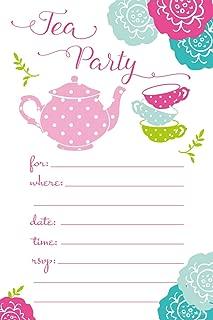 teddy bear tea party invitations
