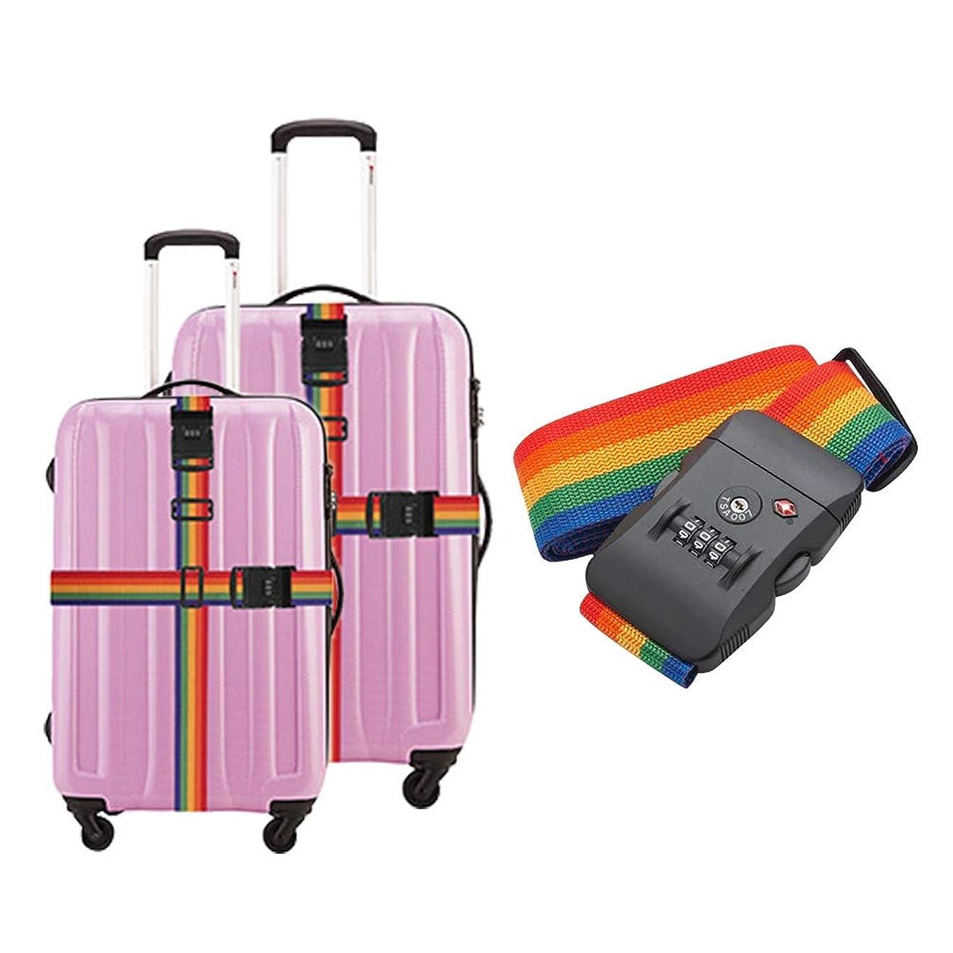 詳細なむさぼり食うソートスーツケース ベルト TSA荷物ストラップ パスワードロックストラップ 荷物ベルト 税関のロック 一字