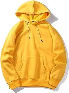 Auwer Autumn Fashion Color Hooides Men's Thick Clothes Sweatshirts Men Hip Hop Streetwear Fleece Pullover Hoodie Man Clothing