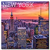 New York Wall Calendar 2021, Monthly January-December 12   x 12""