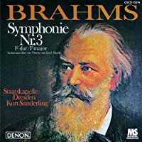 Brahms: Symphonie Nr. 3/Haydn Variationen by Kurt Sanderling (2012-06-20)