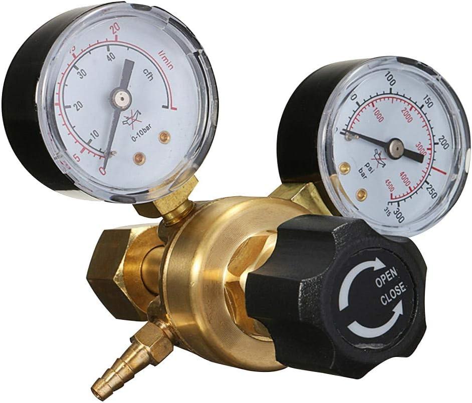 WFAANW Argon SALENEW very popular! CO2 Cheap Welding Twin Gauge Tool A Accuracy High Reducer