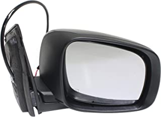 Kool Vue CH65ER Mirror for Grand Caravan 08-18/Town and Country 08-16 Right Side Power Manual Folding Heated W/One Touch Feature Textured Black