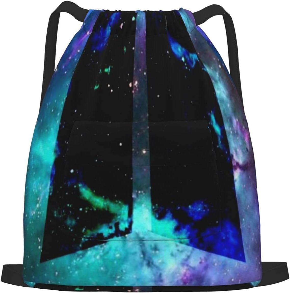 Colored depot Galaxy Drawstring Sports Backpack Bag Yoga Max 63% OFF Gym D
