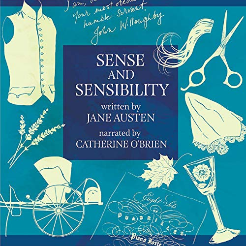 Sense and Sensibility (Annotated) audiobook cover art