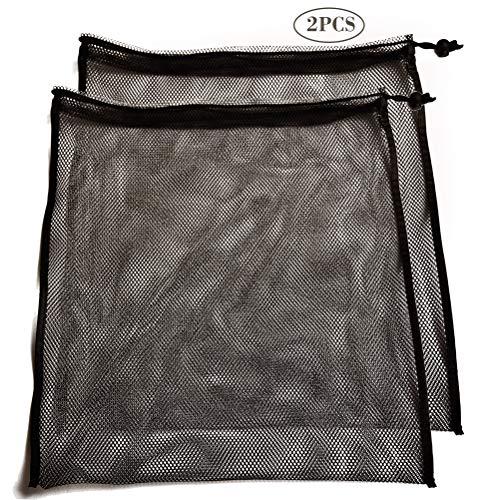 Mike Mesh Equipment Bag Drawstring Storage Ditty Shoe Tennis Ball Bags...