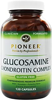 Pioneer Nutritional Formulas Glucosamine Chondroitin | 120ct