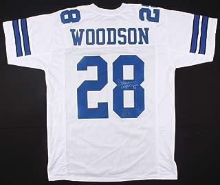 Darren Woodson #28 Signed Dallas Cowboys Jersey (Woodson Hologram) Official Darren Woodson Hologram