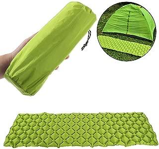 Brownrolly Colchoneta de Camping Inflable Colchoneta de colch/ón de Aire Ultraligero Bolsa Inflable para Acampar Mochilero Senderismo Monta/ñismo