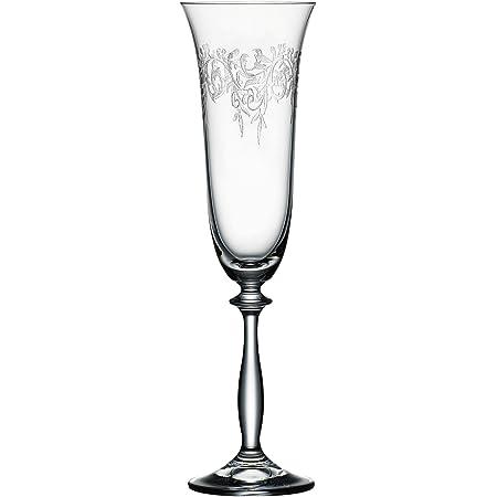 Bohemia Cristal 093/006/014 Romance Flutes à Champagne 190 ml 6 Pièces