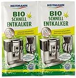 Heitmann - Descalcificador rápido biológico, 2 x 25 g