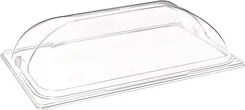 Winco C-DPF1 Polycarbonate Dome Flip Cover, Full Size